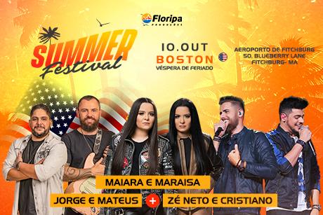 Summer Festival - Boston e Miami